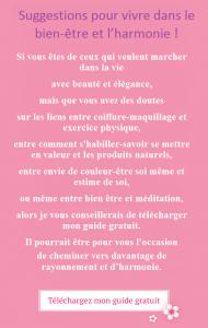 Guide de bien-être Chantal ats