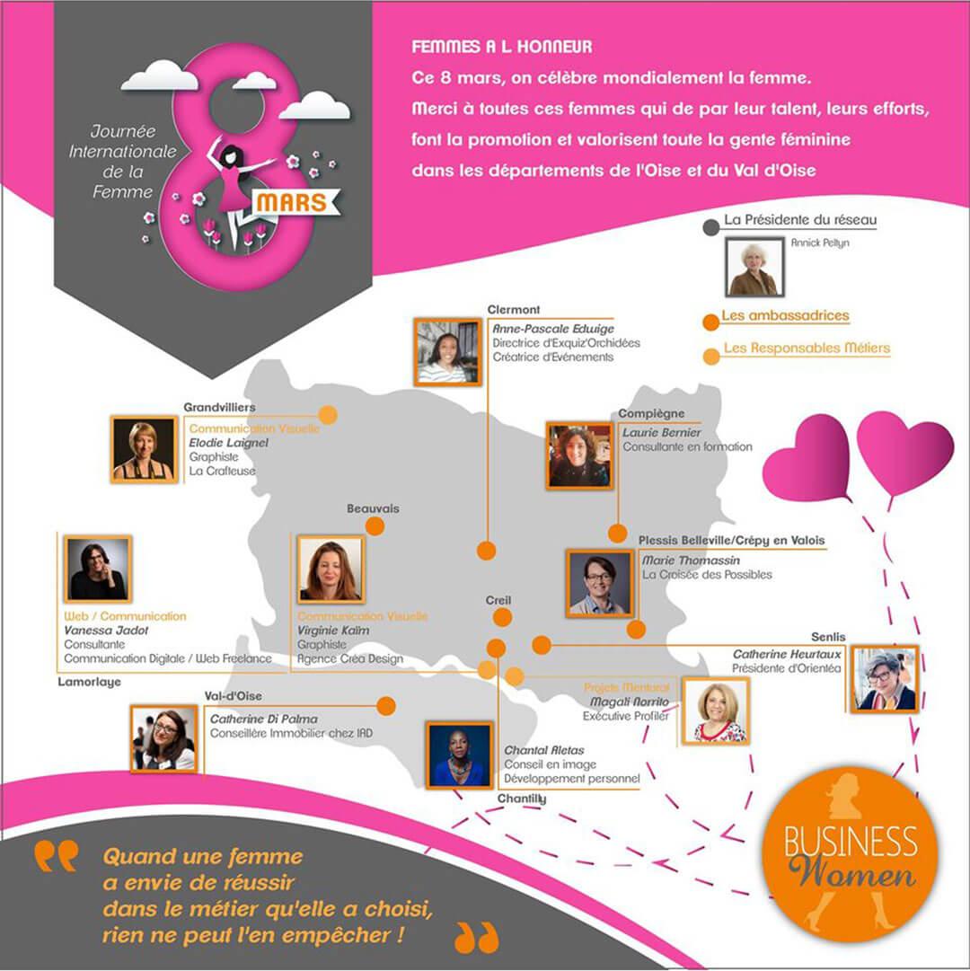 Femmes Entrepreneures, Ambitieuses et Confiance en Soi.