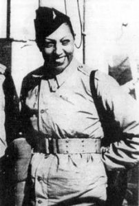 J Baker resistante :au débarquement allié, octobre 1944 photo :eklablog