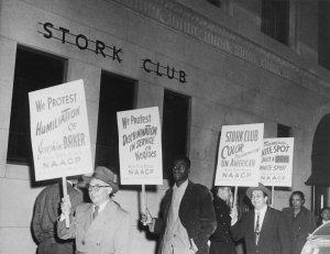 1936 Stork Club démonstration